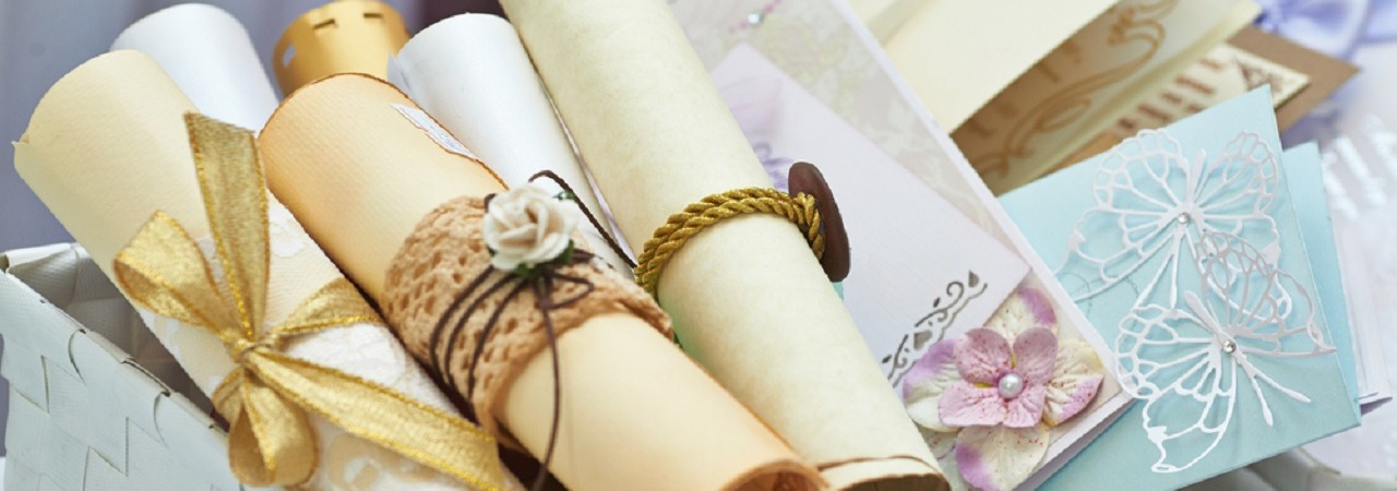 How to make your own wedding invitations!
