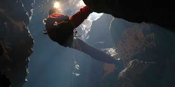 Zip Lining and Caving