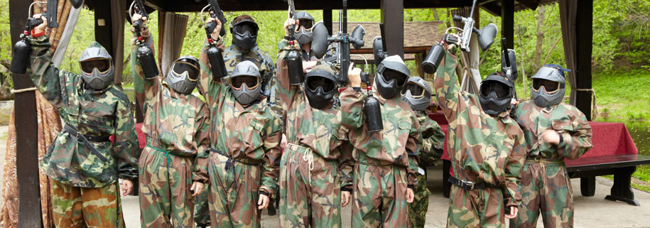 The Different Characters On A Paintball Team