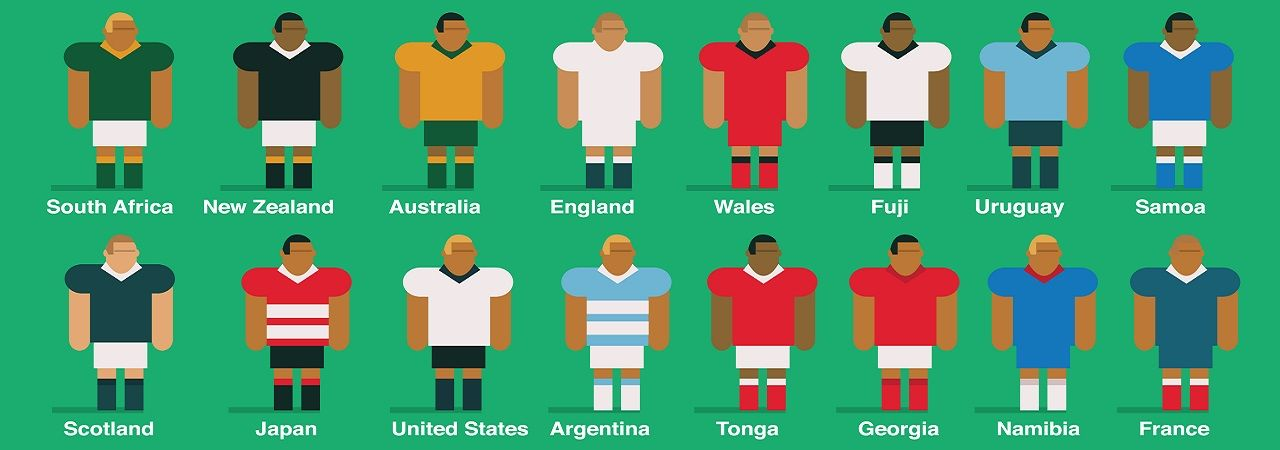An A to Z guide of the Rugby World Cup 2015