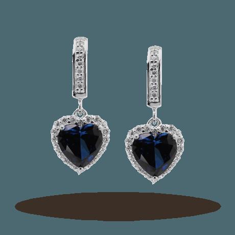 carat drop earrings
