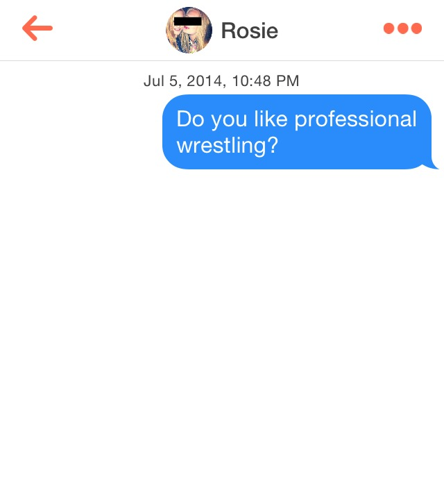 What Works on Tinder