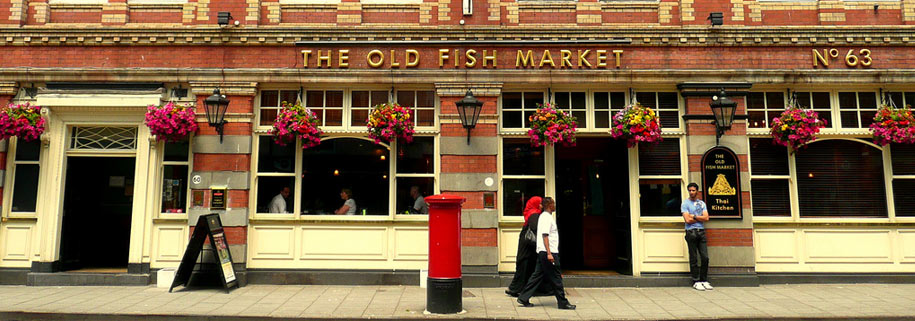 the old fish market in bristol
